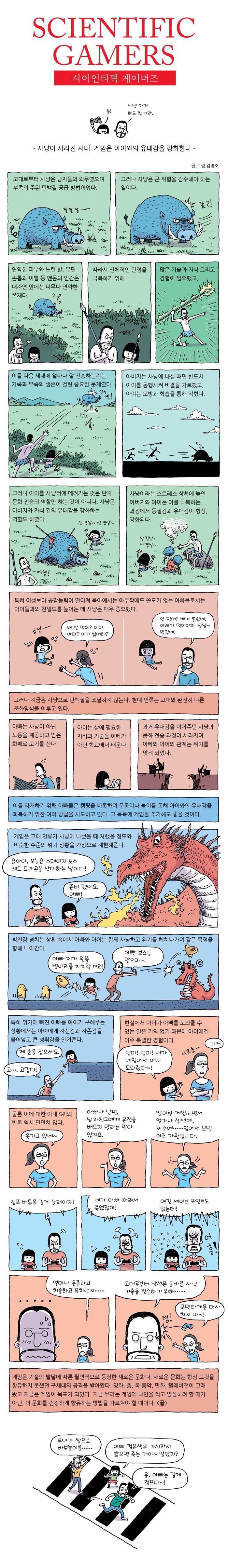 사이언티픽 게이머즈 #2 게임은 아이와의 유대감을 강화한다