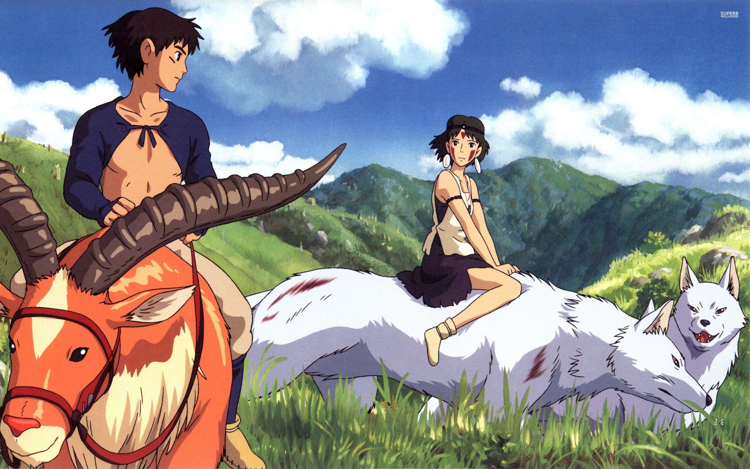 인간과 자연의 공존을 다룬 영화 <모노노케 히메>(1997)
