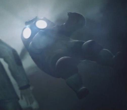 게임 속에서 잠수복을 입고 등장하는 토마스 제인
