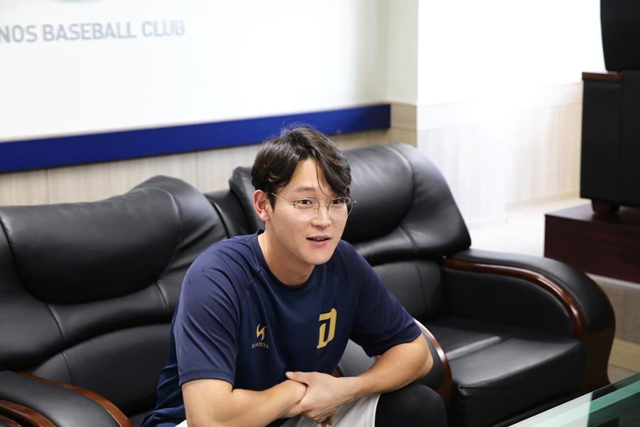 """""""그 수비, 실화냐?"""" 재미있는 야구를 꿈꾸는 남자, 김준완 선수 인터뷰 2"""