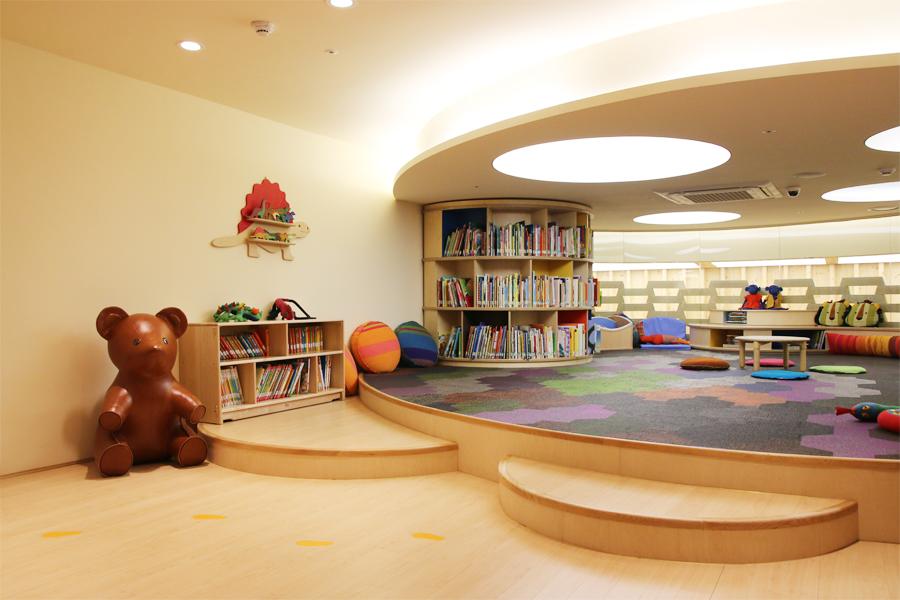 '웃는땅콩'은 아이들의 다중감각 발달을 위해 공간 지각적 디자인을 추구했다 1
