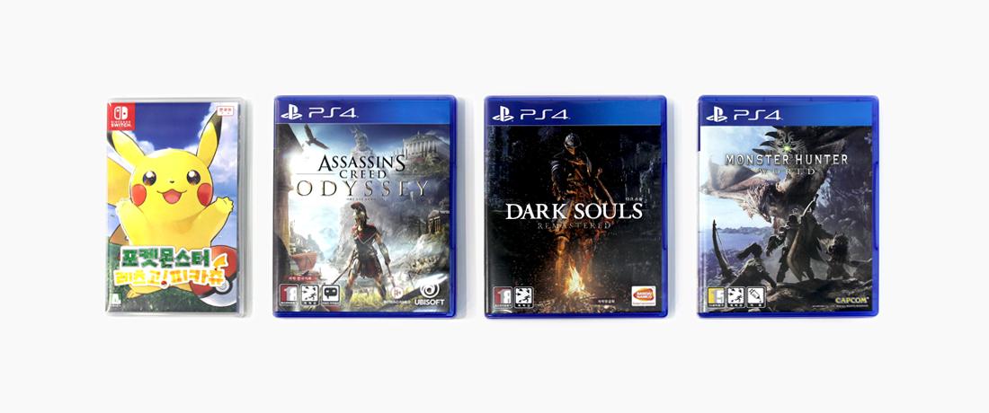 PS4 게임 타이틀