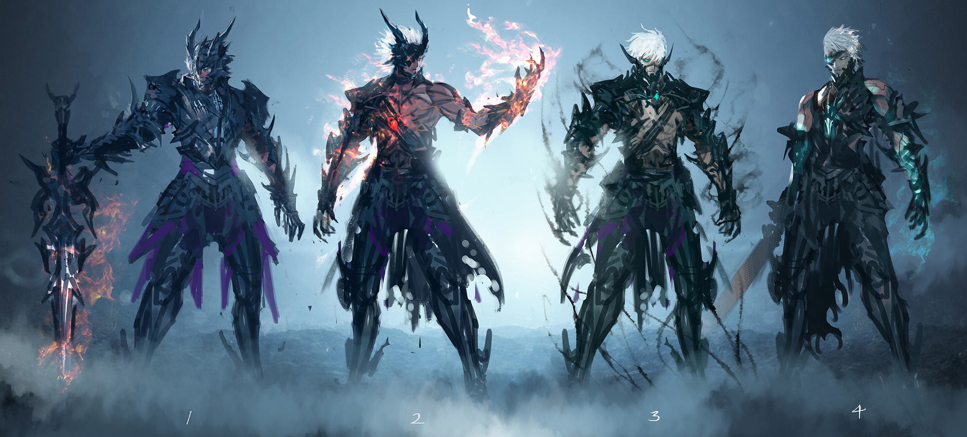 Lineage 2 ㅣ WHO ARE YOU in Death Knight 2