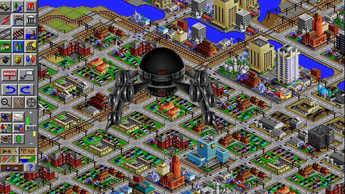 재난 설정 중, 외계인의 침공 (출처: 제작사)