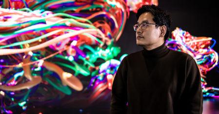 현실과 가상, 인간과 기술을 미디어아트로 혼합하는 작가 양민하