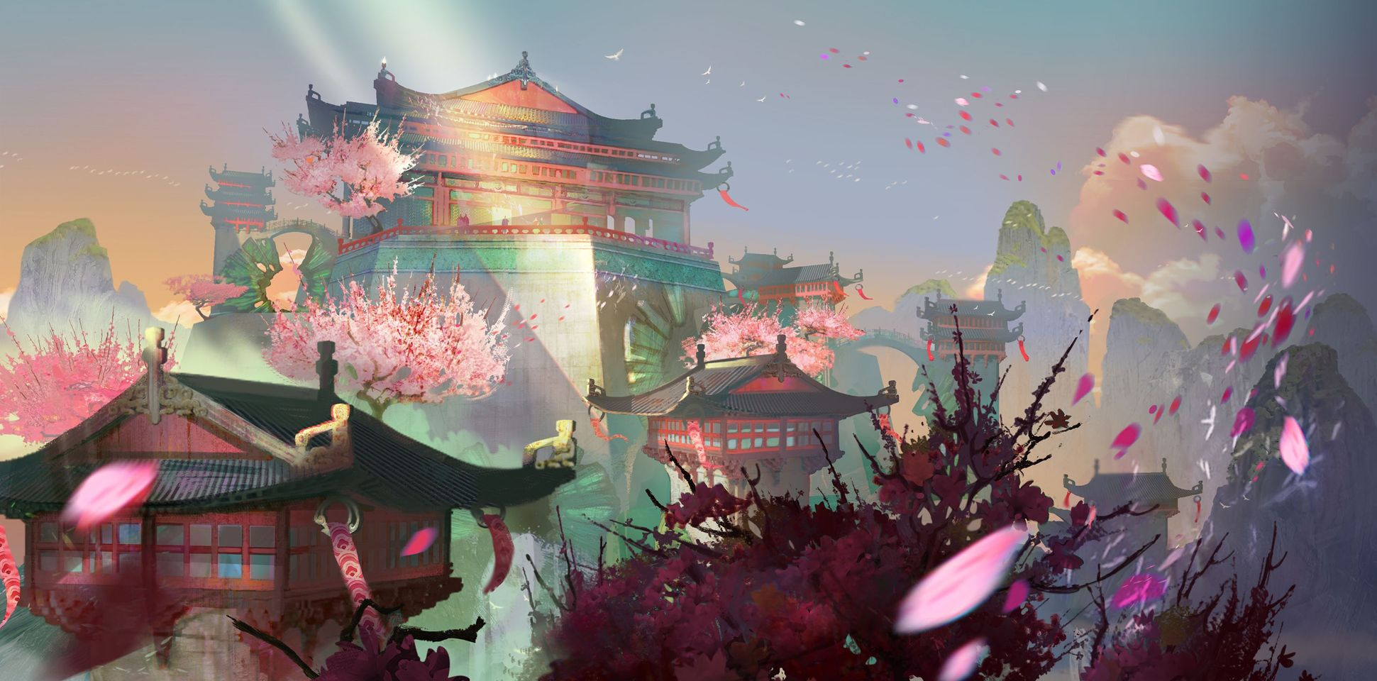 Guild Wars 2: End of Dragons Whisks Players Away to Mysterious Land of Cantha With New Expansion in February 2022 on Windows PC