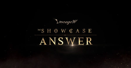 """The second showcase of Lineage W, """"ANSWER"""", answers the questions from its users"""